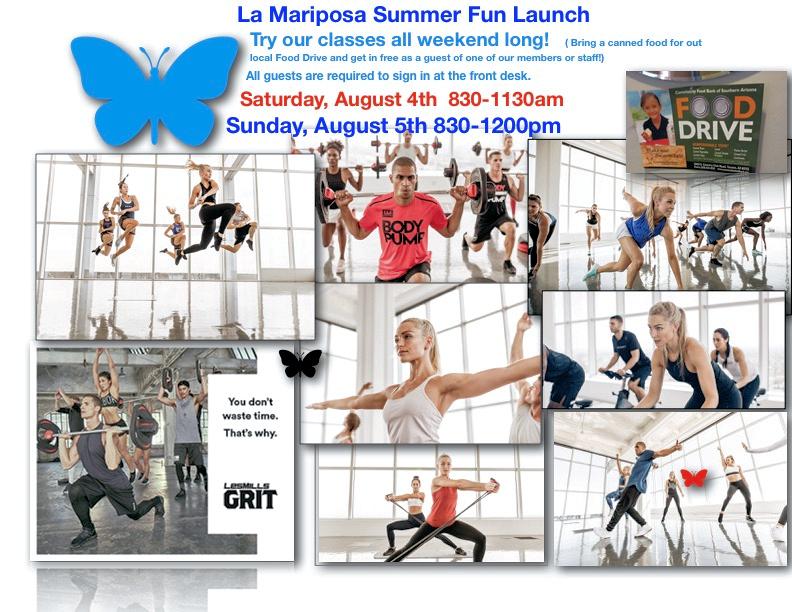 la mariposa fitness and sports
